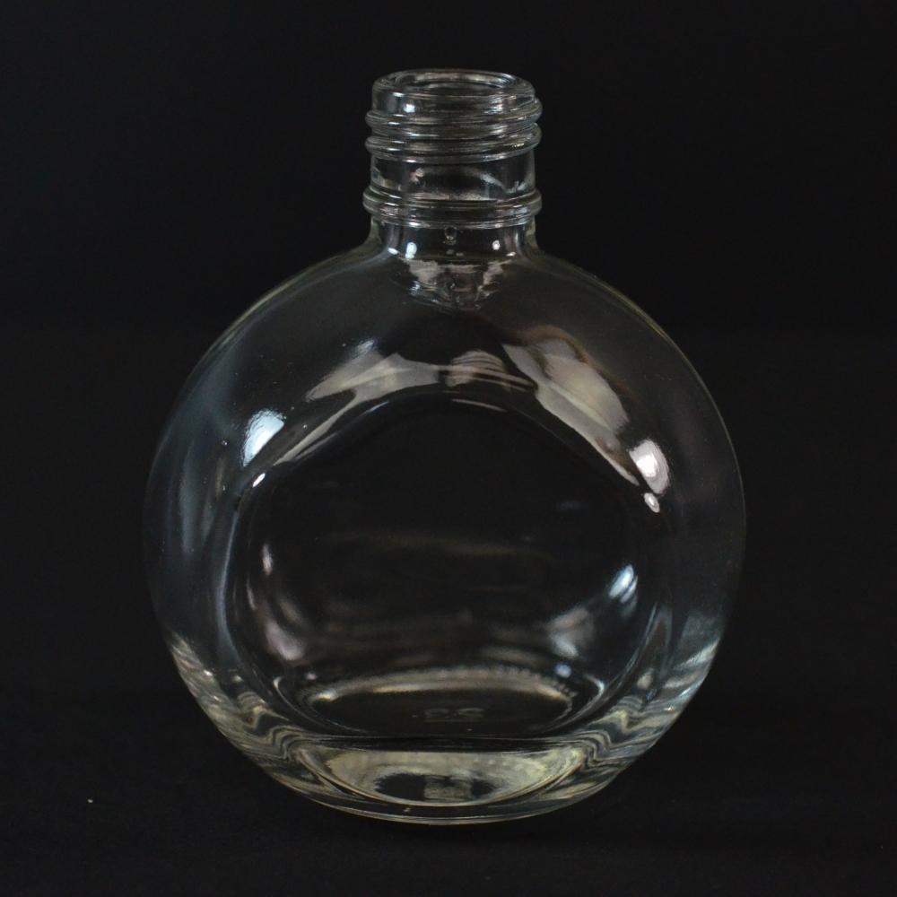35 ml 15/415 Bella Oval Clear Glass Bottle