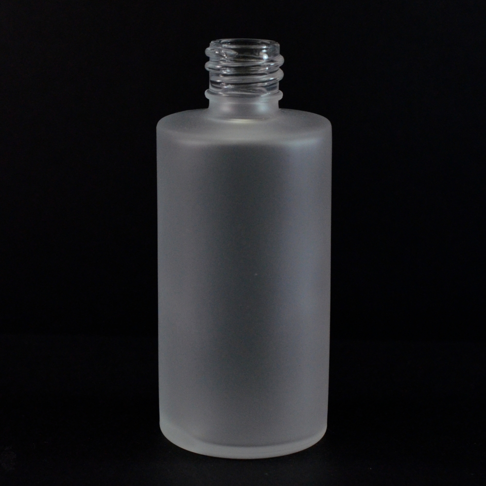 4 oz. 18/415 Roy Frosted Glass Bottle