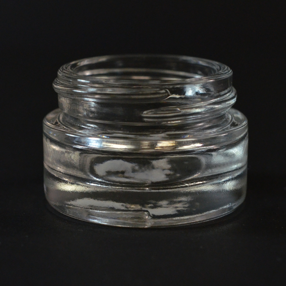 1/2 oz 40/400 Renoir Clear Glass Jar (discontinued)