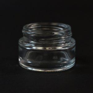 Glass Jar 15ml Straight Base Minerva Clear 40-400_1117