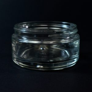 Glass Jar 200ml Round Base Volga Clear 89-400_1105