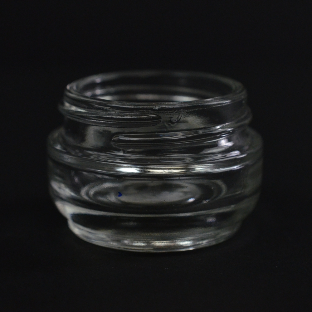 15 ML 40/400 Elegante Clear Glass Jar