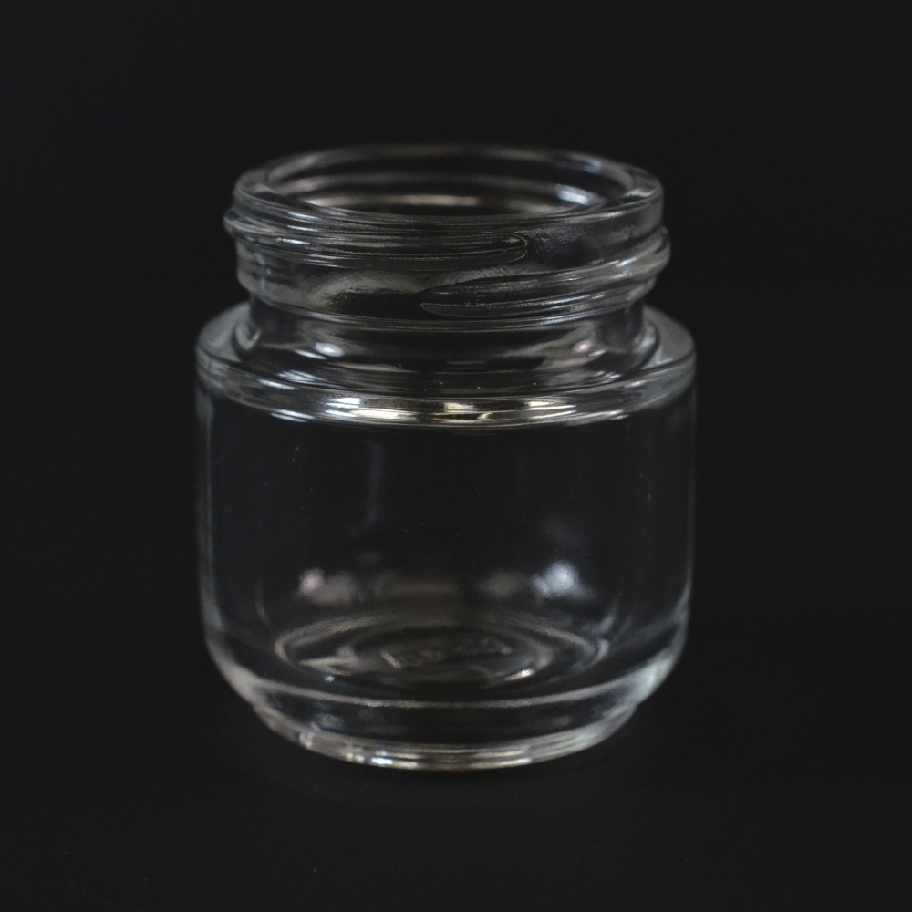 30 ML 40/400 Special Venus Clear Glass Jar