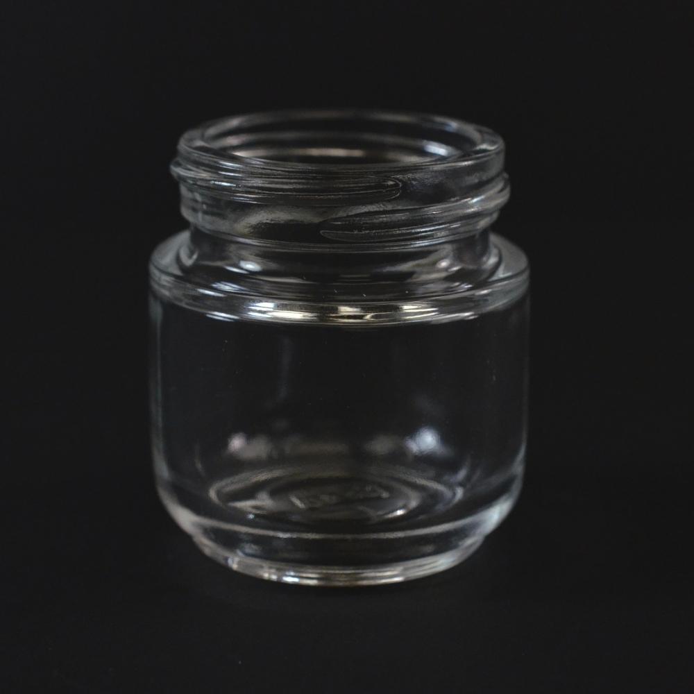 30 ML 40/400 Special Venus Clear Glass Jar