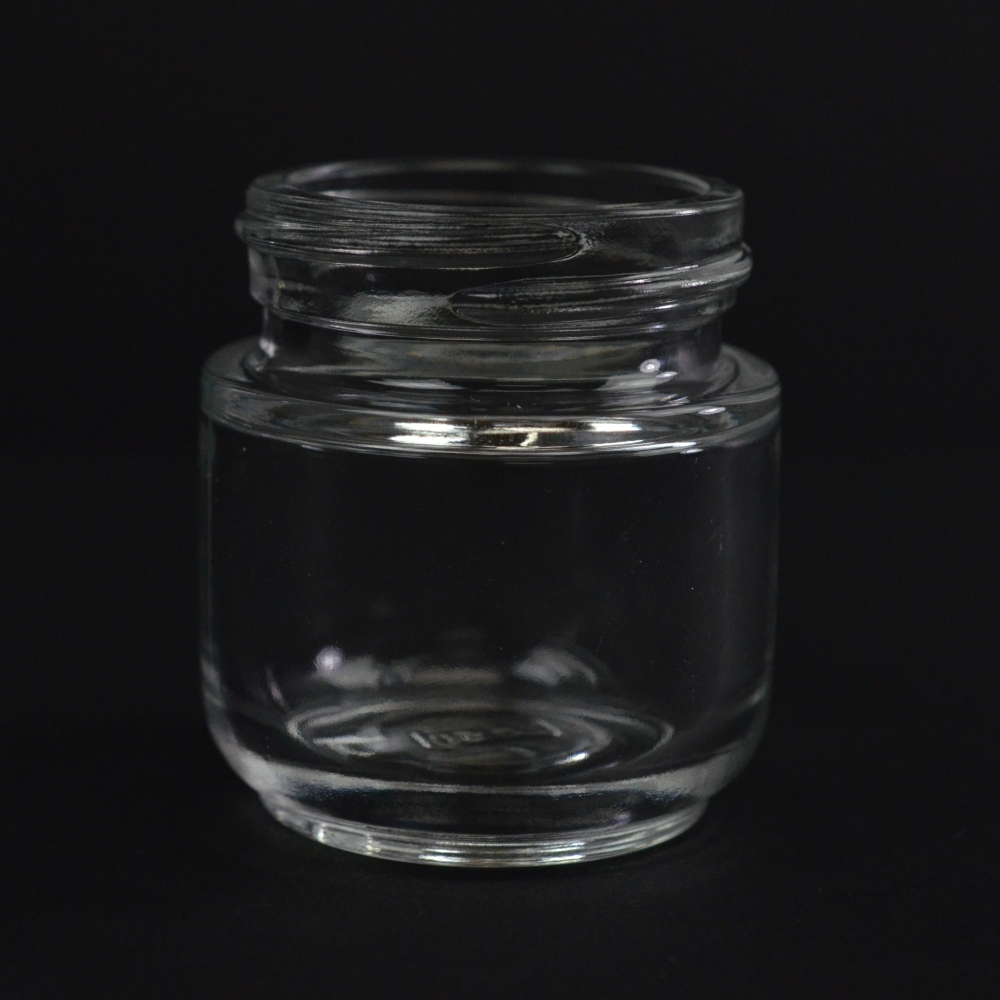 30 ML 40/400 Elegante Clear Glass Jar