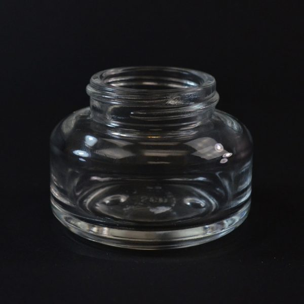 Glass Jar 40ml Heavy Wall Round Base Tango Clear 40-400_1095