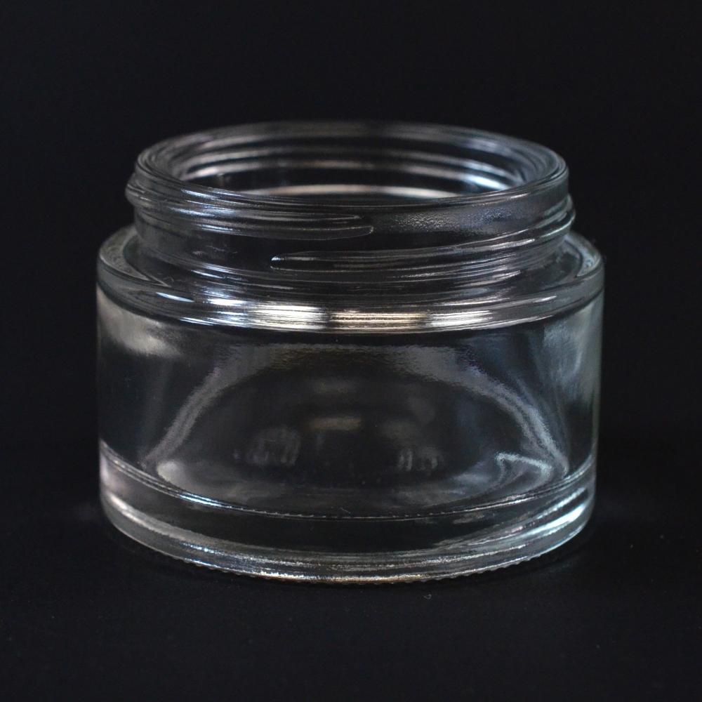 50 ML 48/400 Minerva Clear Glass Jar