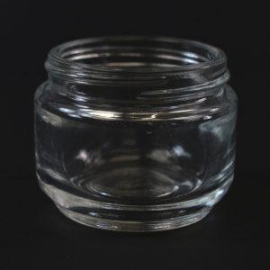Glass Jar 60ml Heavy Wall Straight Base Venus Clear 53-400_1133