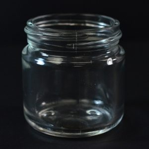 Glass Jar 60ml Round Base Volga Clear Special_1098
