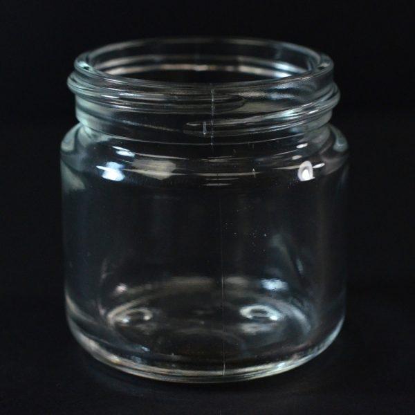 Glass Jar 60ml Round Base Volga Clear Special_1098