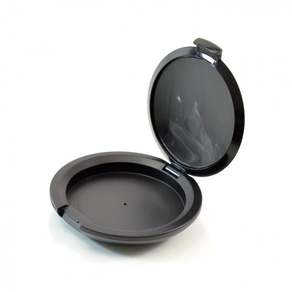 Compact Medium Round ABS Black Pinned-Hinge 2.540″ x 0.515″