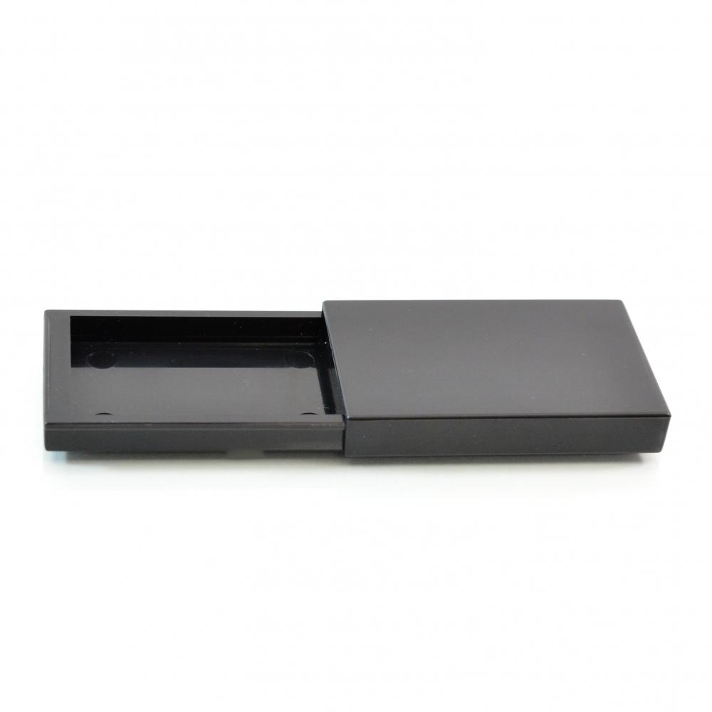 Compact Medium Slider ABS Black Pinned-Hinge 1.608″ x 2.473″ x 0.388″