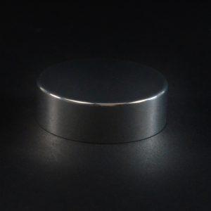 Metal Overshell Cap 38-400 Shiny Silver .490_3203