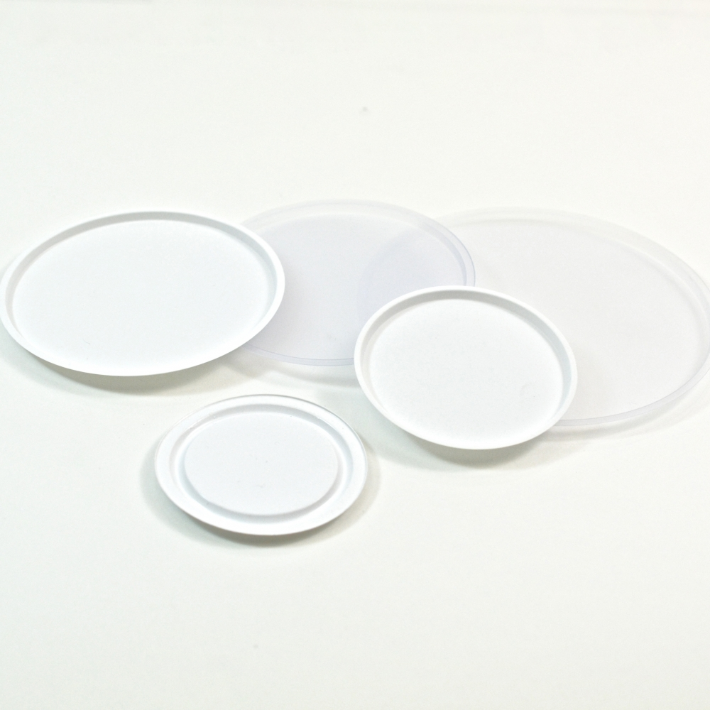 58mm white PVC Sealing Disc