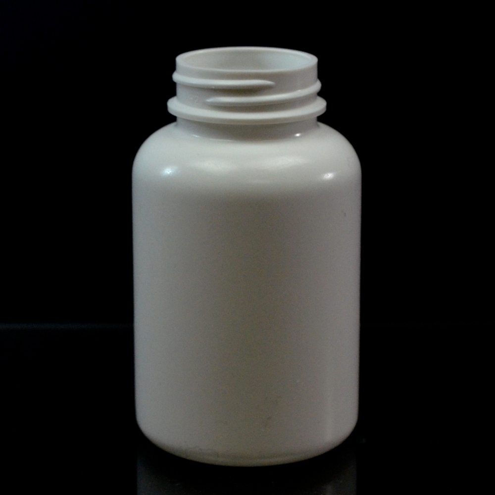175CC White Nutritional Supplement Packer HDPE 38/400