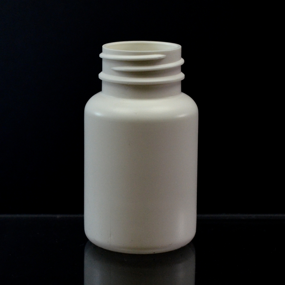 75CC White Nutritional Supplement Packer HDPE 33/400