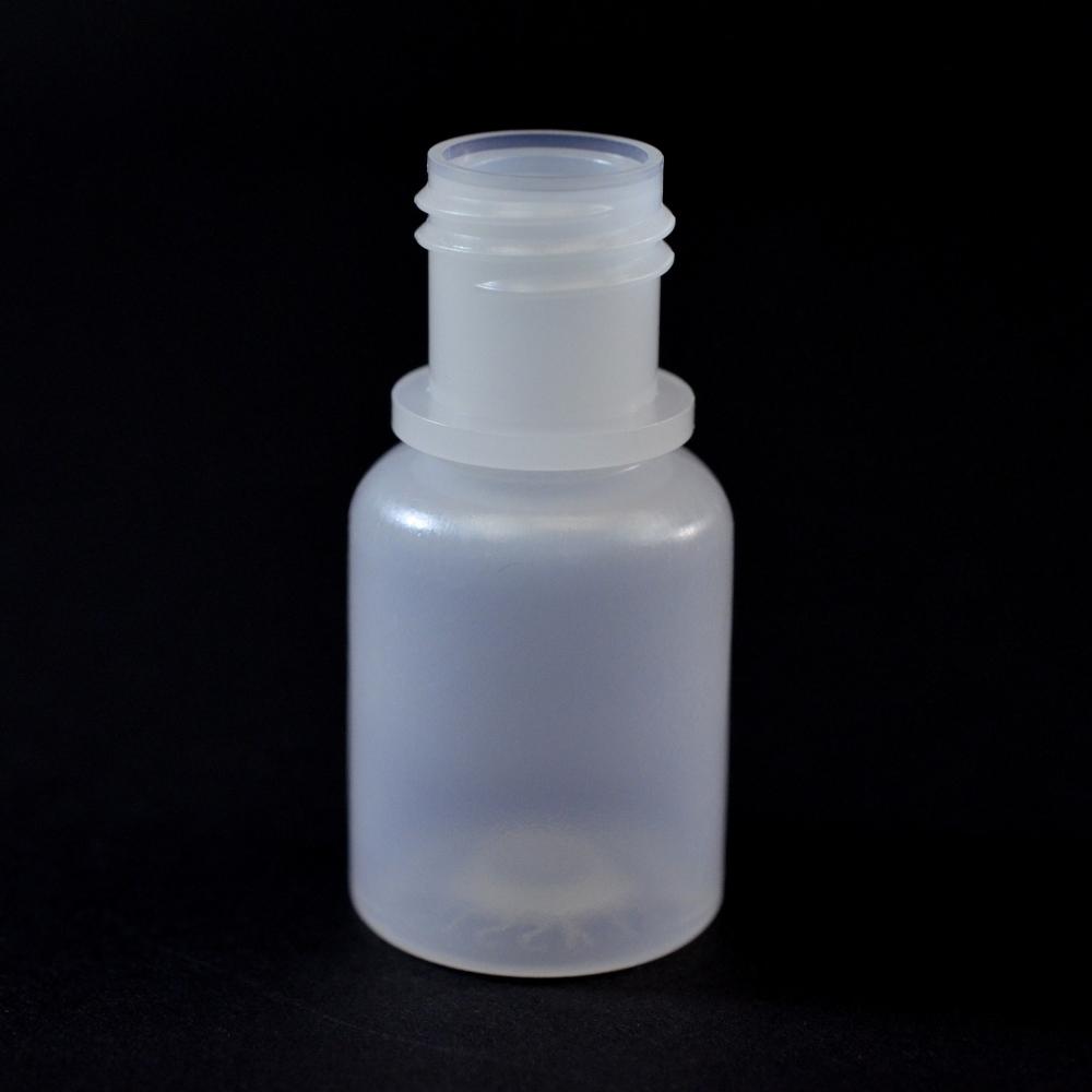 1/4 oz 15/415 Boston Round Natural HDPE Bottle