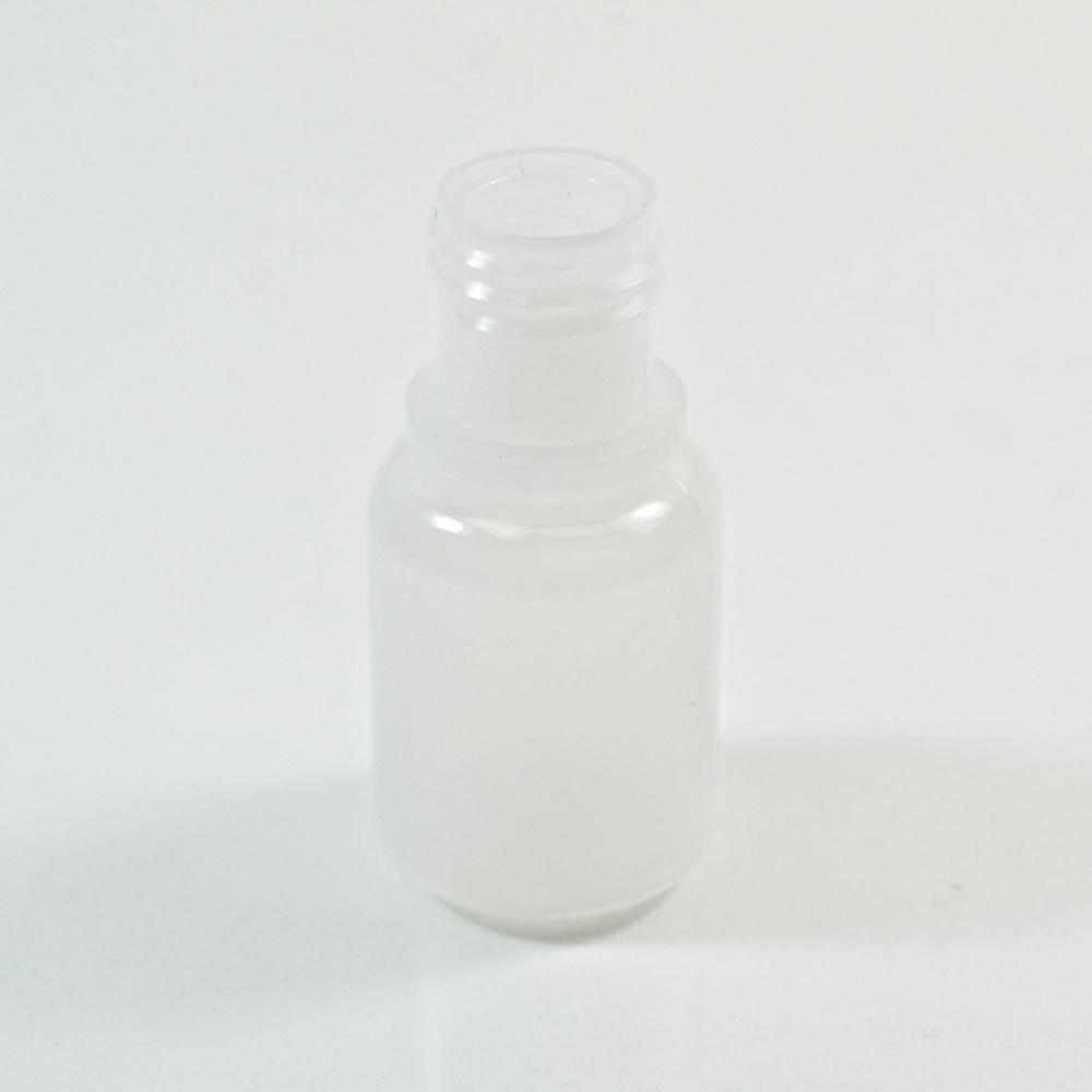 1/4 oz 15/415 Boston Round Natural LDPE Bottle