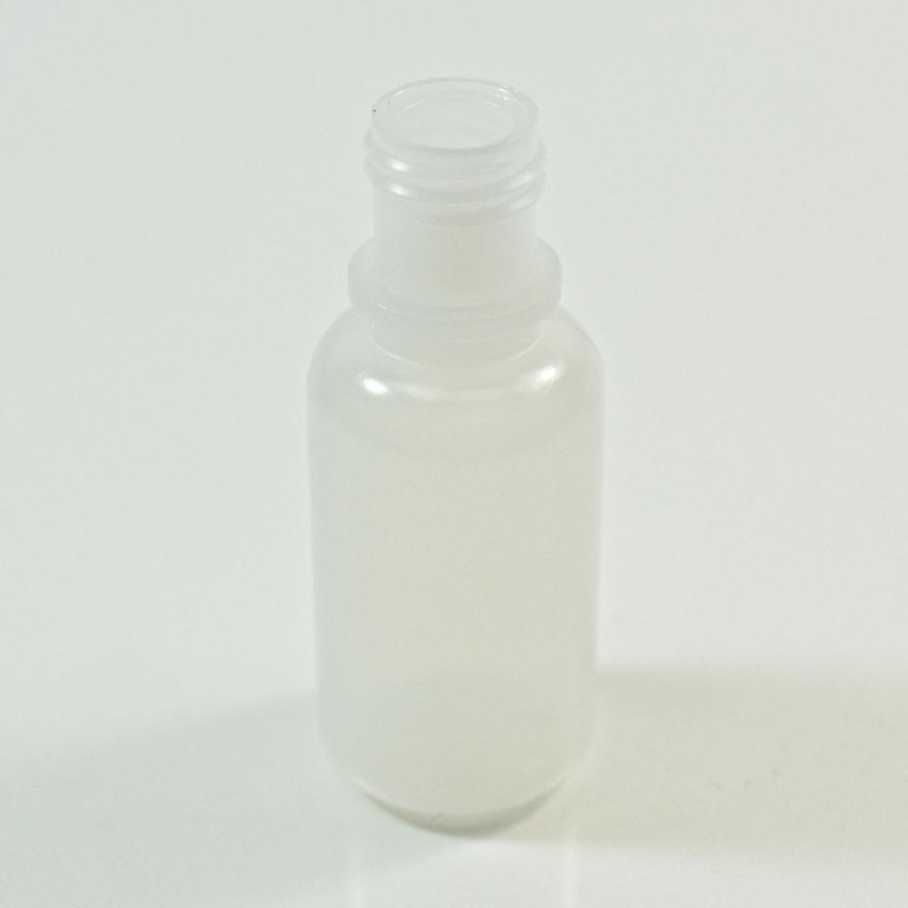 1/2 oz 15/415 Boston Round Natural LDPE Bottle