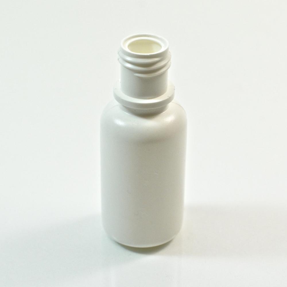 1/2 oz 15/415 Boston Round White LDPE Bottle