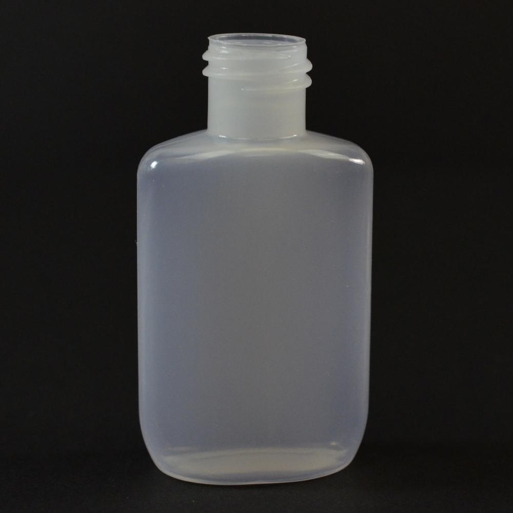 0.5 oz 15/415 Drug Oval Natural HDPE Bottle