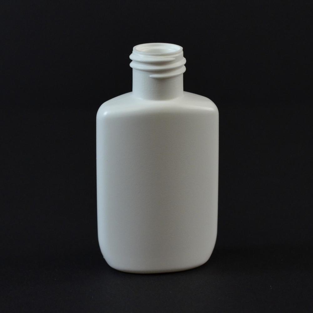0.5 oz 15/415 Drug Oval White HDPE Bottle