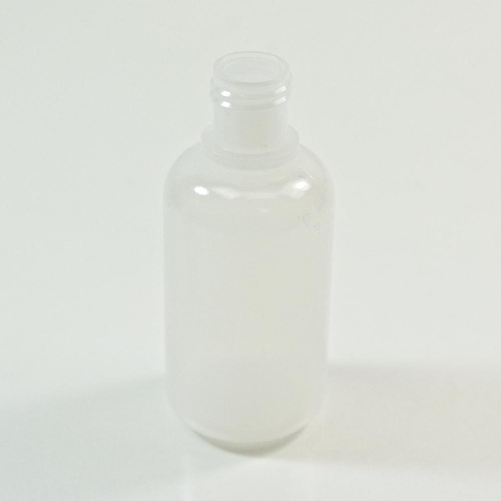 1 oz 15/415 Boston Round Natural HDPE Bottle