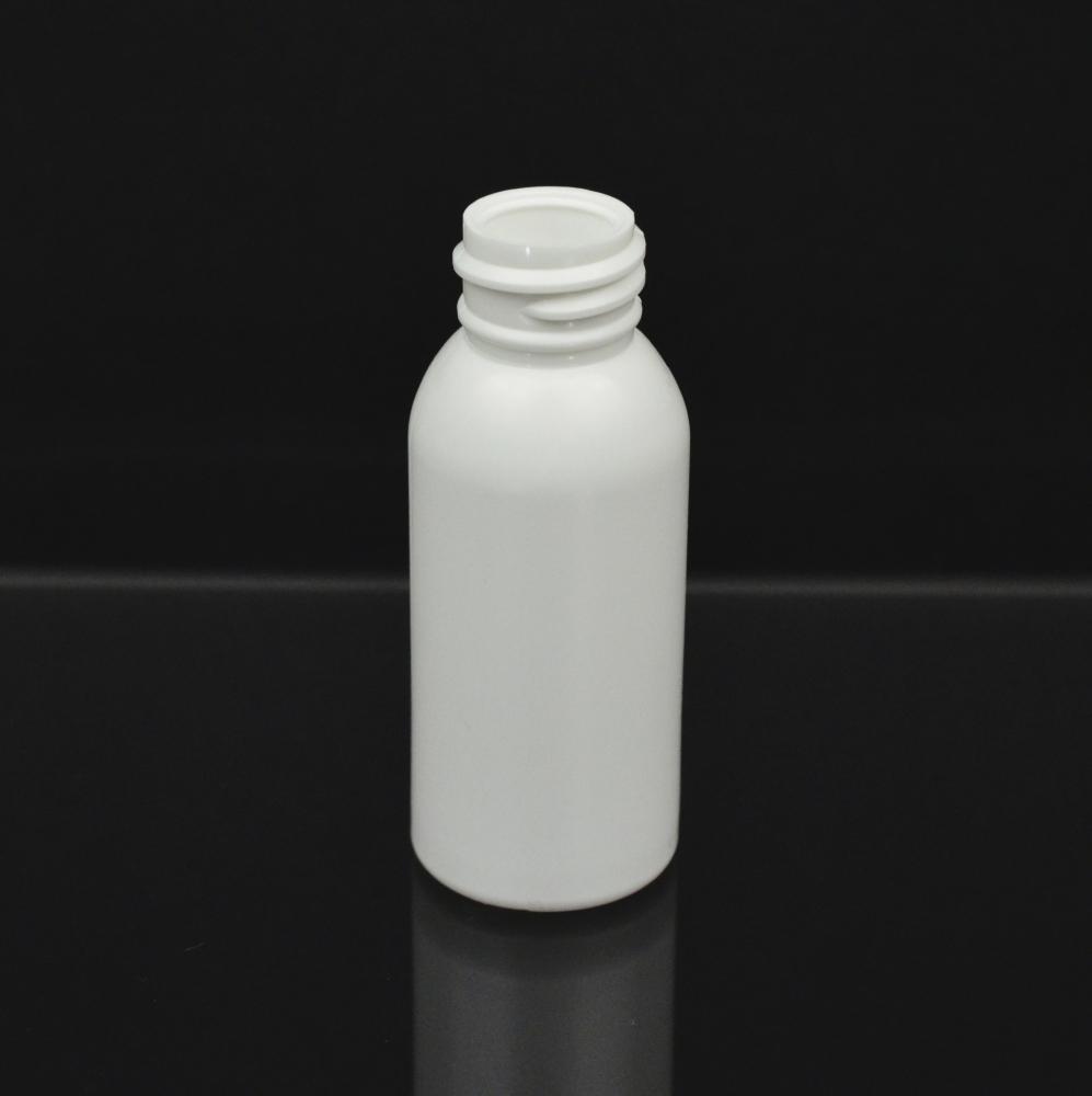 1 oz 20/410 Imperial Round White HDPE Bottle