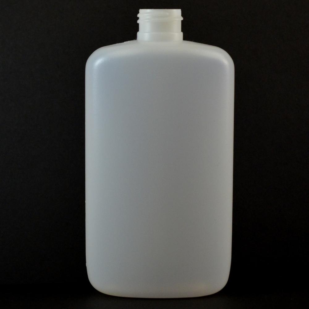 10 oz 24/410 Drug Oval Natural HDPE Bottle