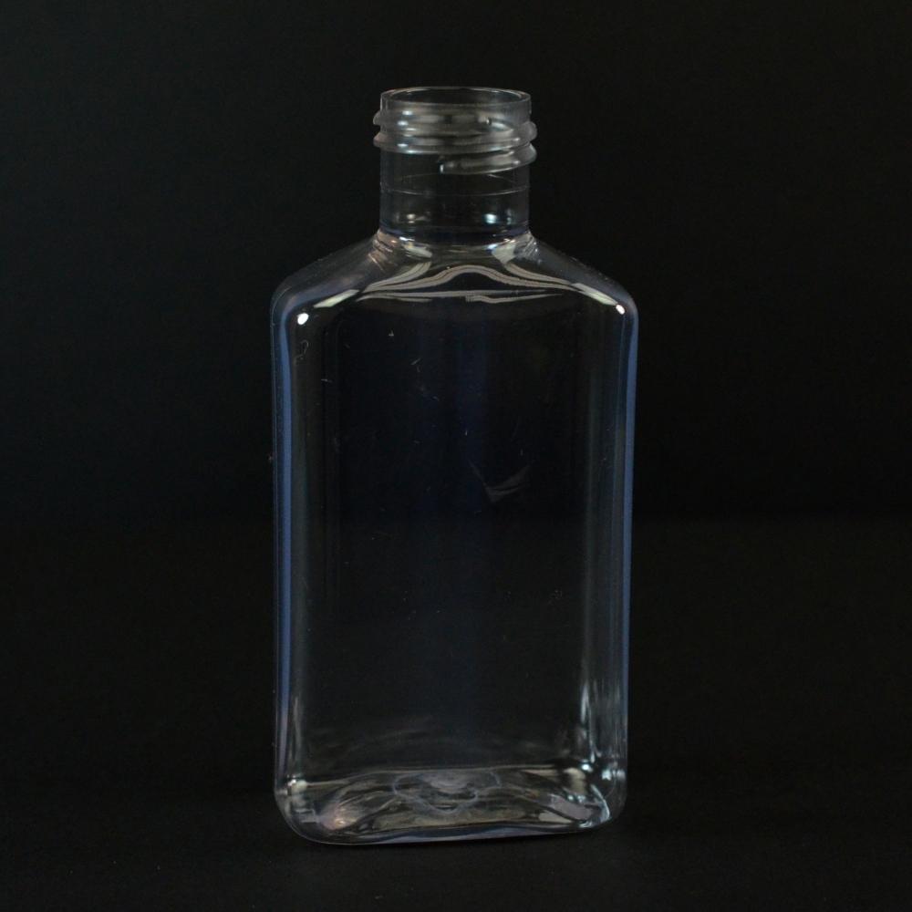 100 ml 24/410 Metric Oblong Clear PET Bottle