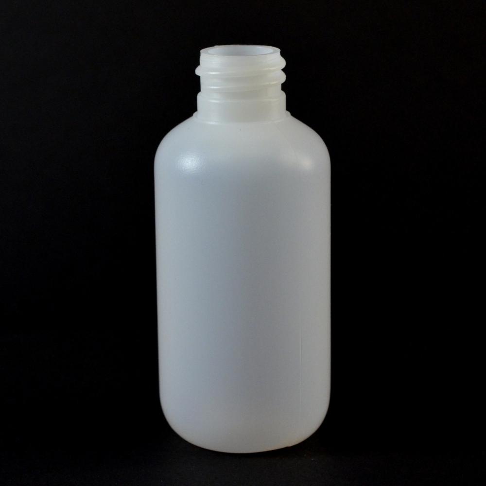 2 oz 20/410 Boston Round Natural LDPE Bottle