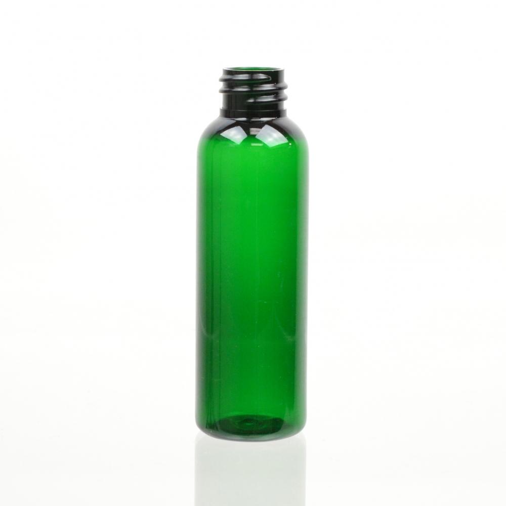 2 oz 20/410 Cosmo Round Emerald PET Bottle