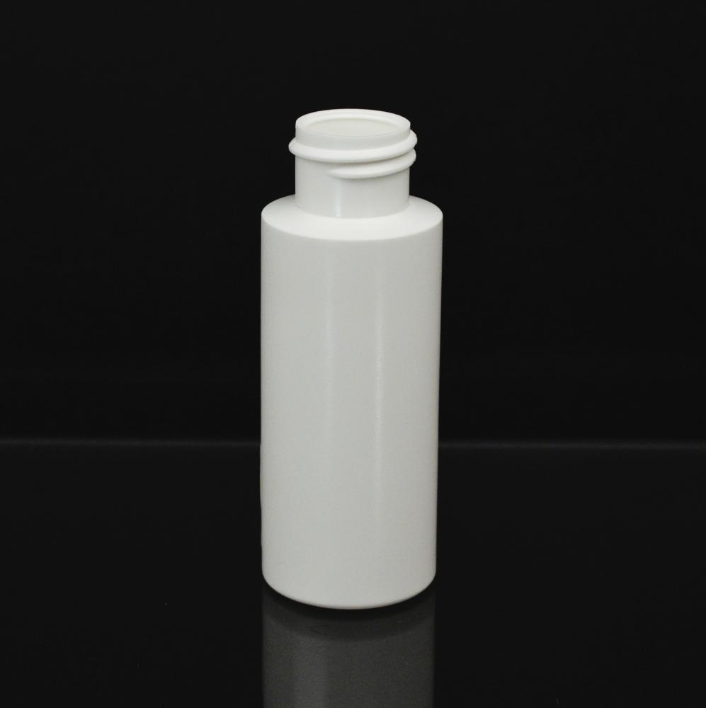 2 oz 20/410 Cylinder Round White HDPE Bottle