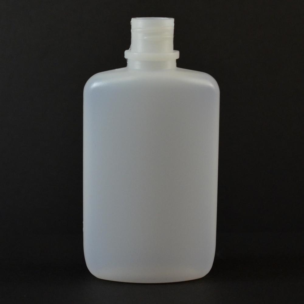 2 oz 18/410 W/R Drug Oval Natural HDPE Bottle