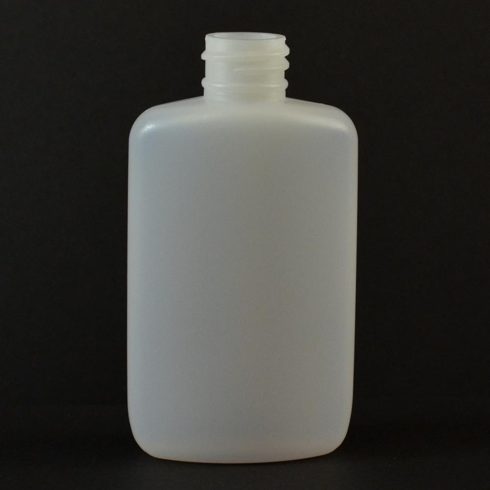 2 oz 20/410 Drug Oval Natural HDPE Bottle