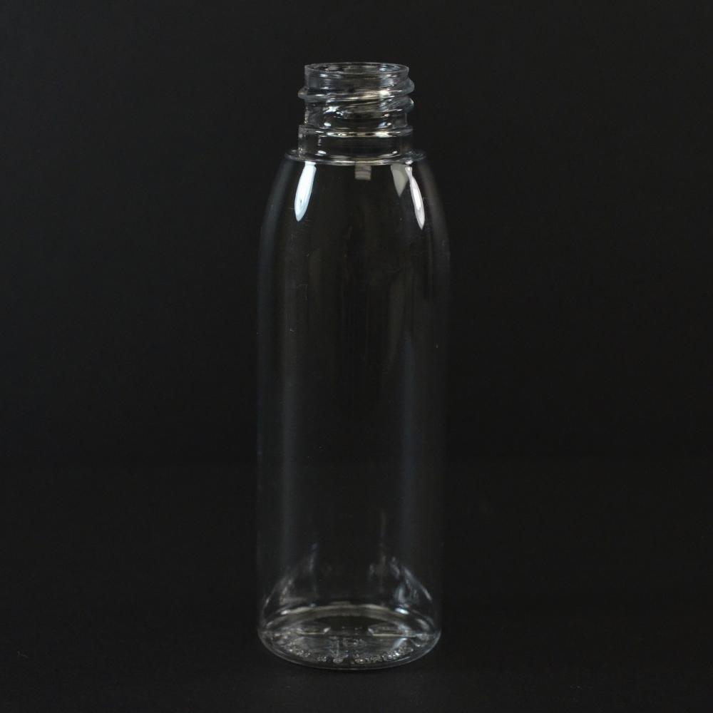2 oz 20/410 Evolution Round Clear PET Bottle