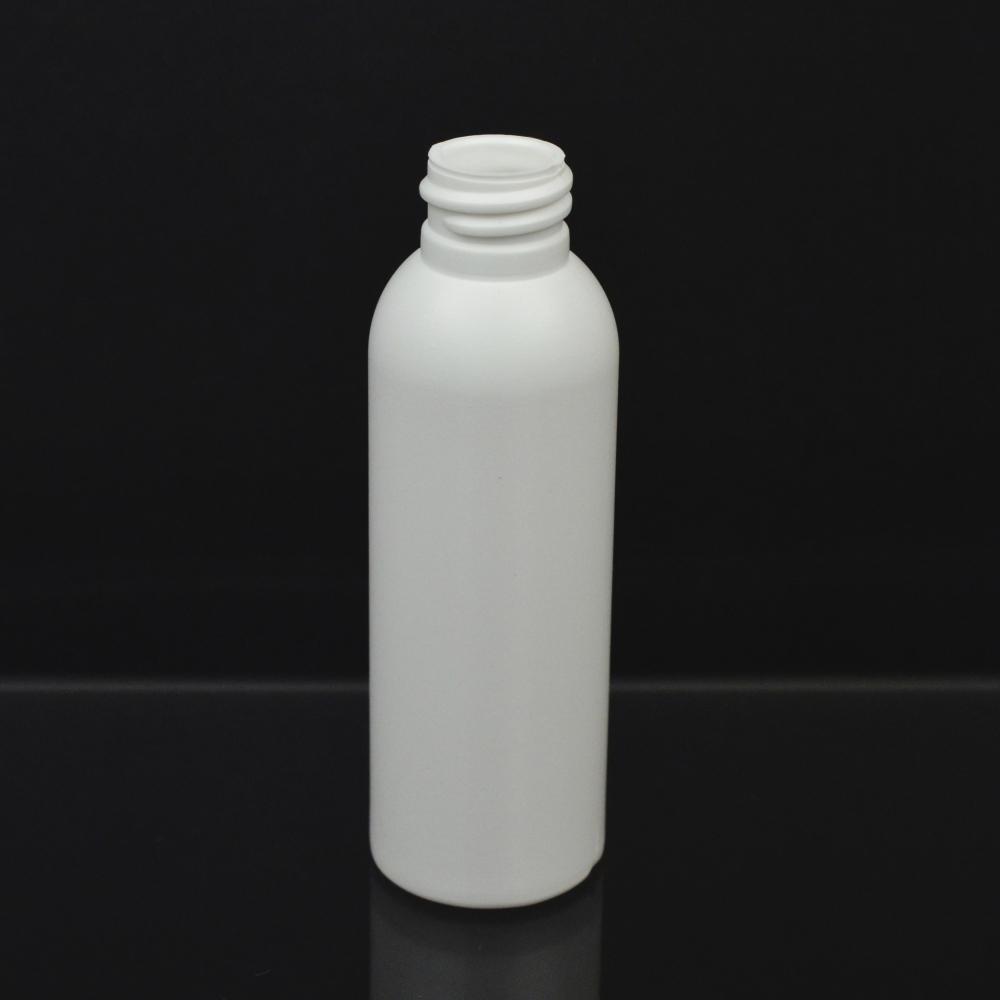 2 oz 24/410 Imperial Round White HDPE Bottle