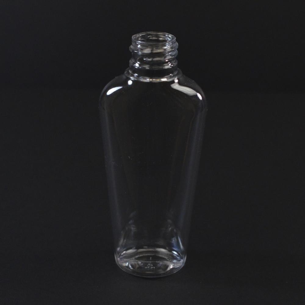 2 oz 20/410 Vail Oval Clear PET Bottle