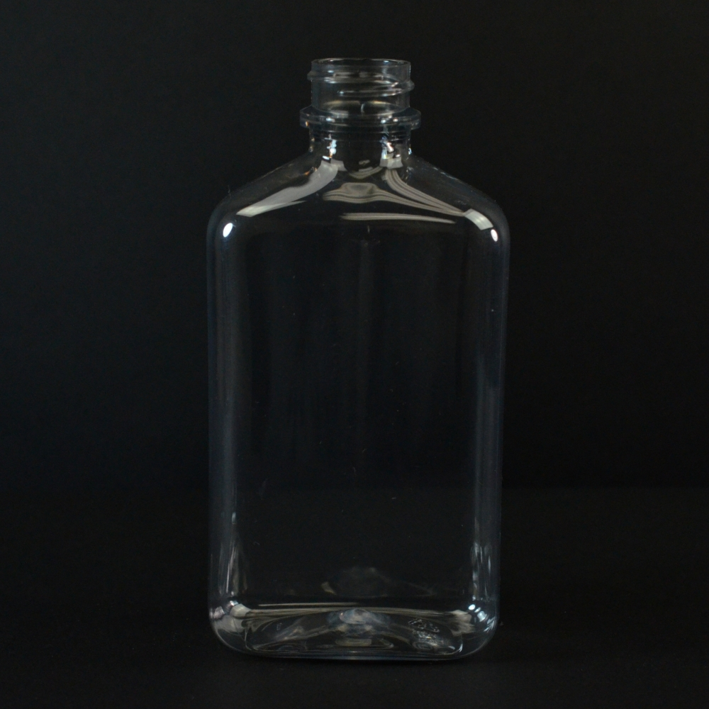 200 ml 24/400 Metric Oblong Clear PET Bottle