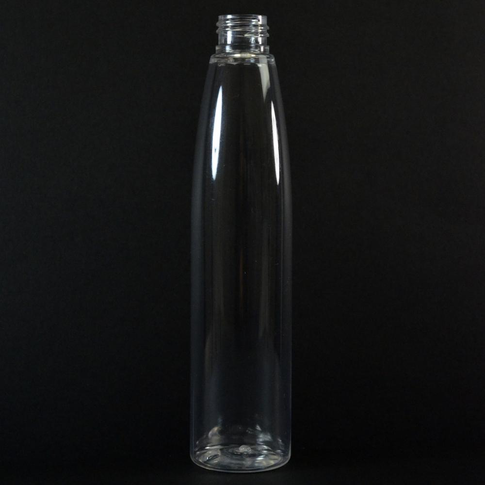 250 ML 24/410 Evolution Slim Round Clear PET Bottle