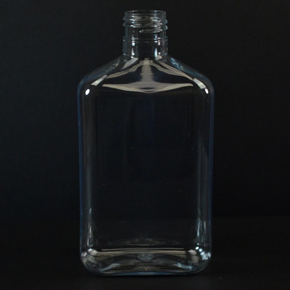 250 ml 24/410 Metric Oblong Clear PET Bottle