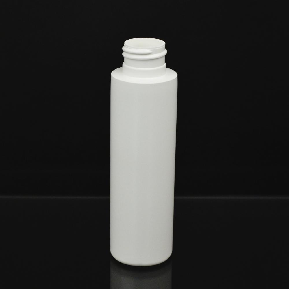 3 oz 24/410 Cylinder Round Whtie HDPE Bottle