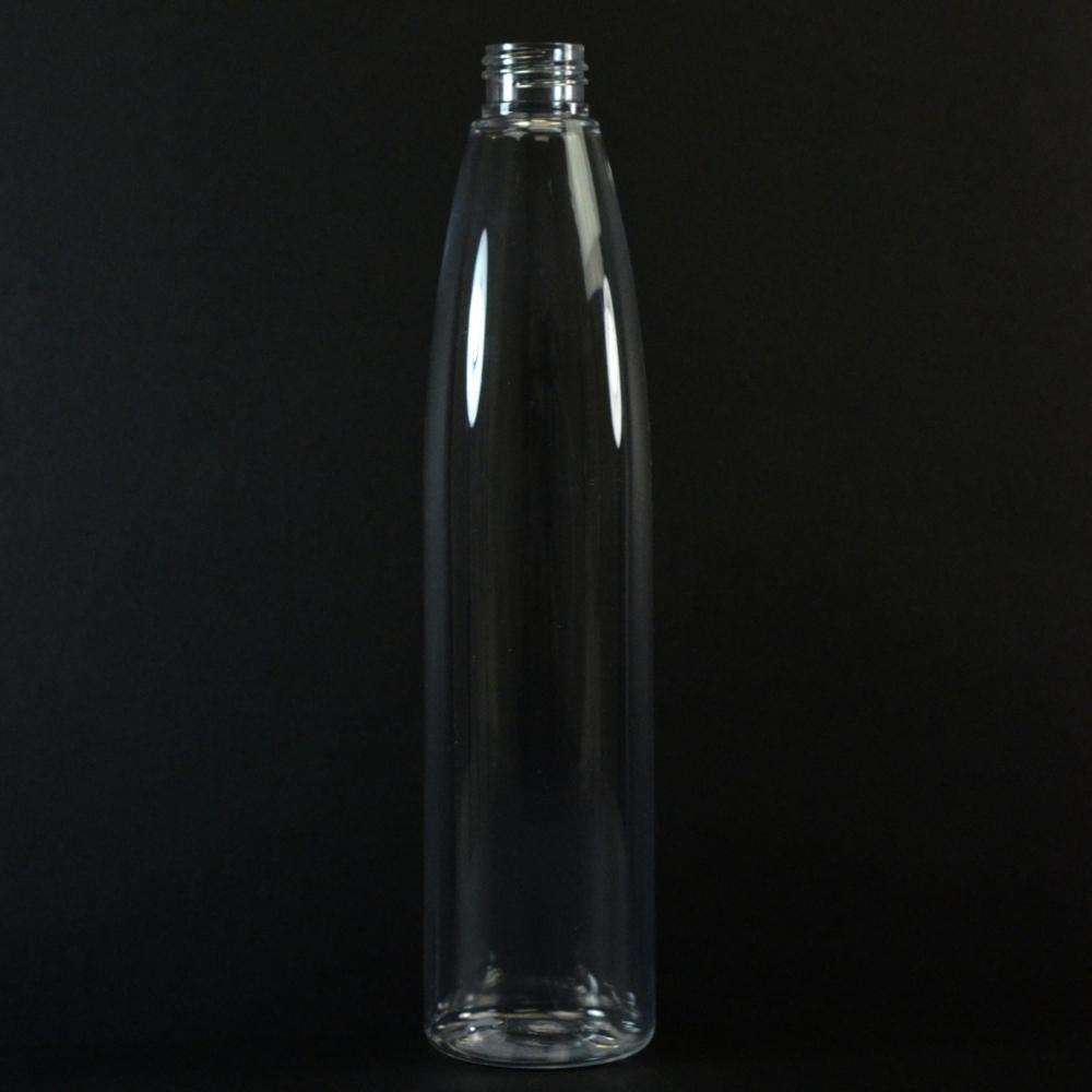 350 ML 24/410 Evolution Slim Round Clear PET Bottle