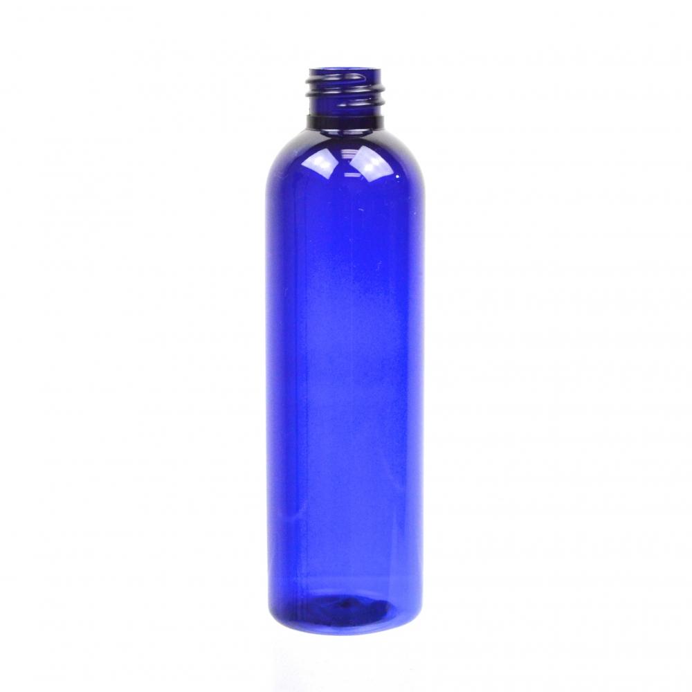 4 oz 20/410 Cosmo Round Cobalt PET Bottle
