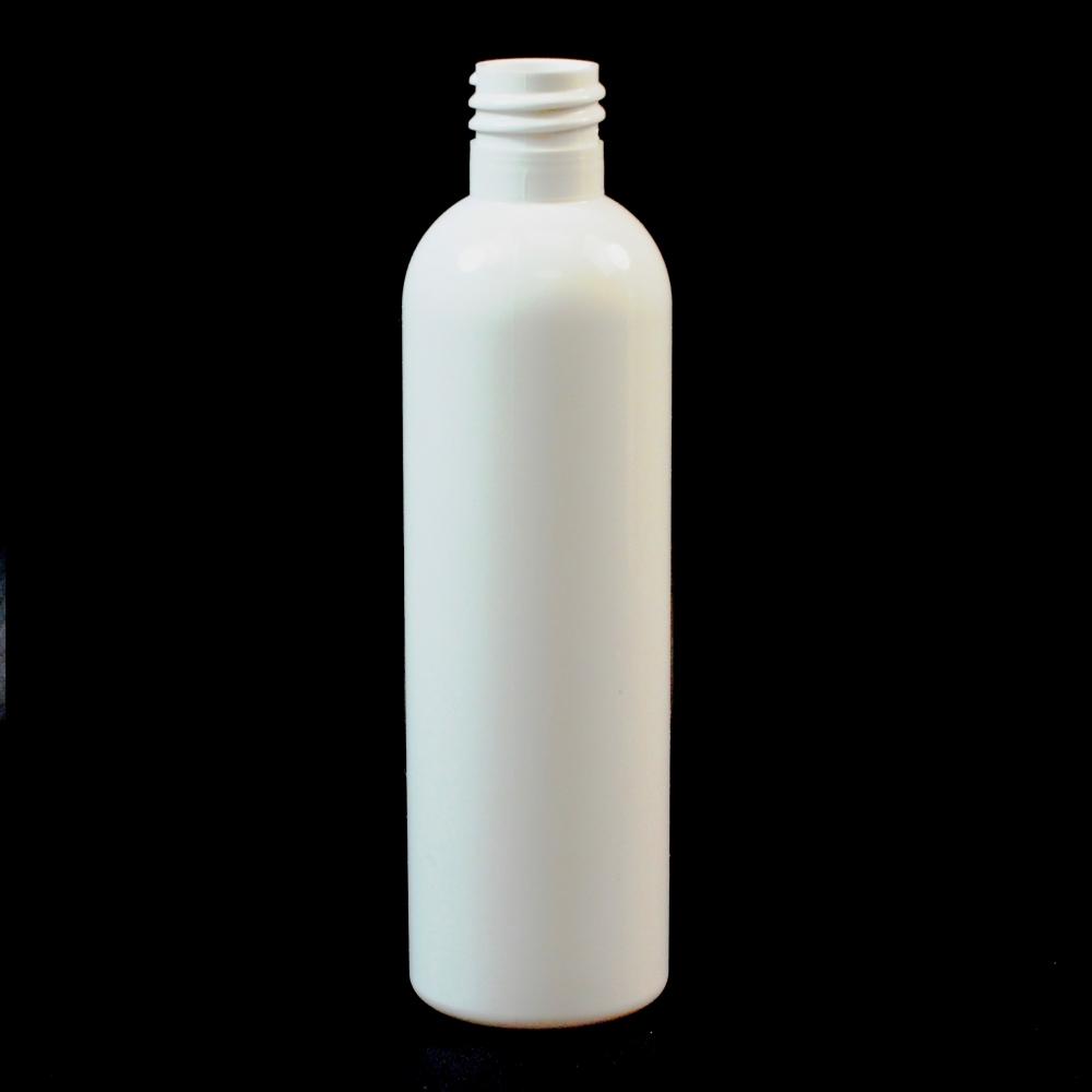 4 oz 20/415 Cosmo Round White PET Bottle
