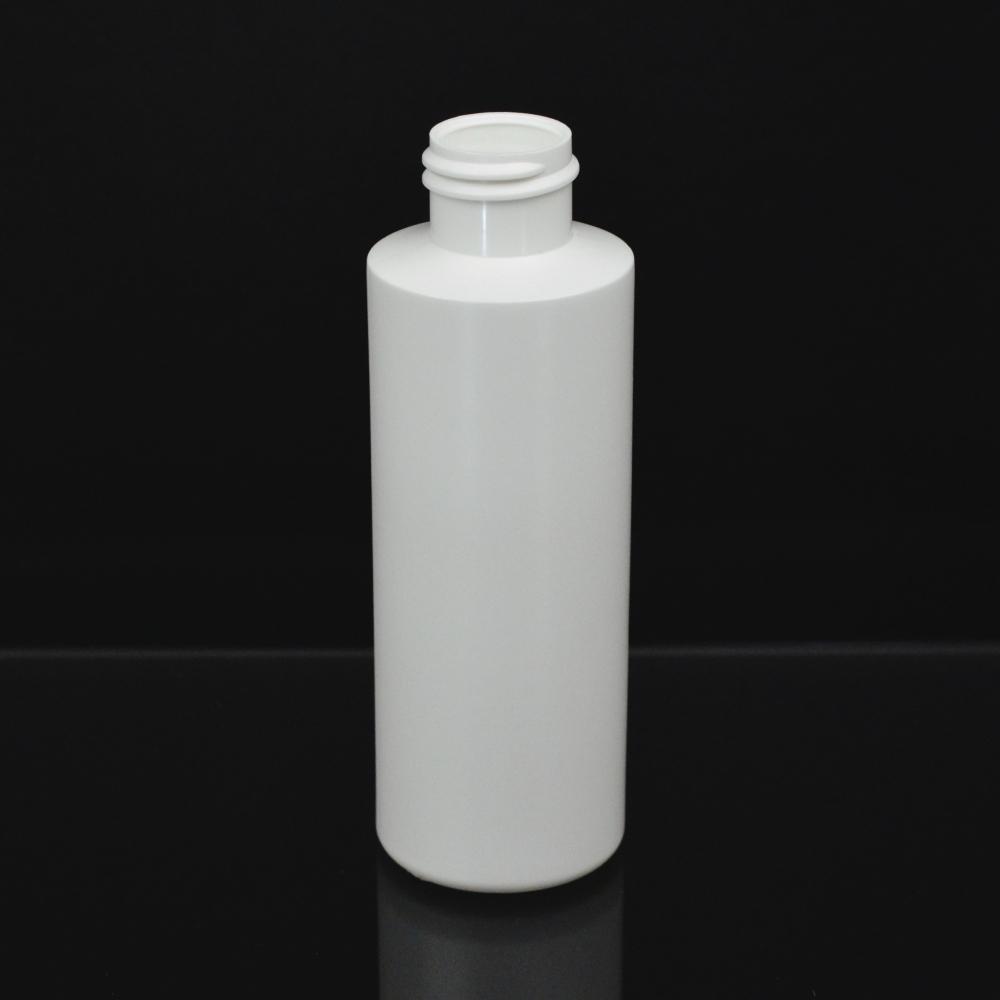 4 oz 20/410 Cylinder Round White HDPE Bottle