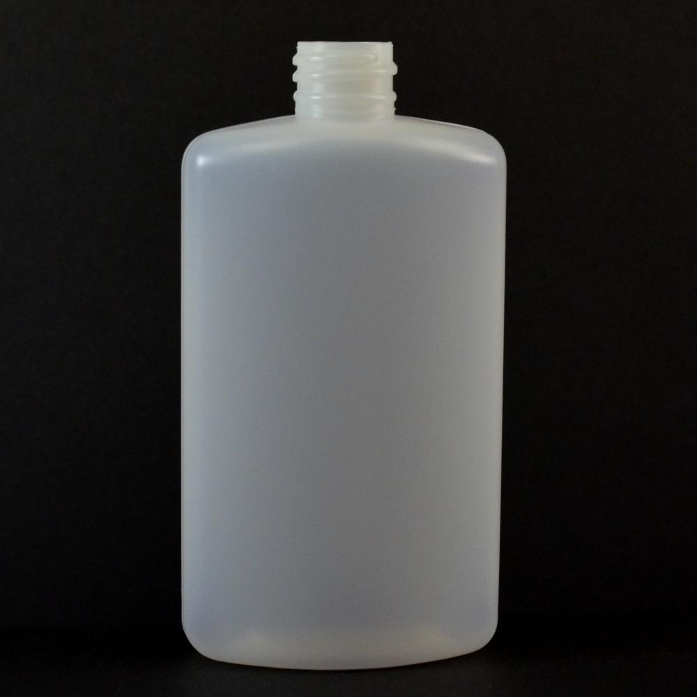4 oz 20/410 Drug Oval Natural HDPE Bottle