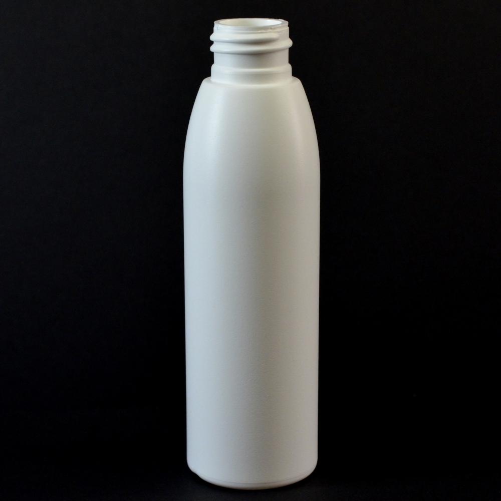 4 oz 24/410 Evolution Round White HDPE Bottle