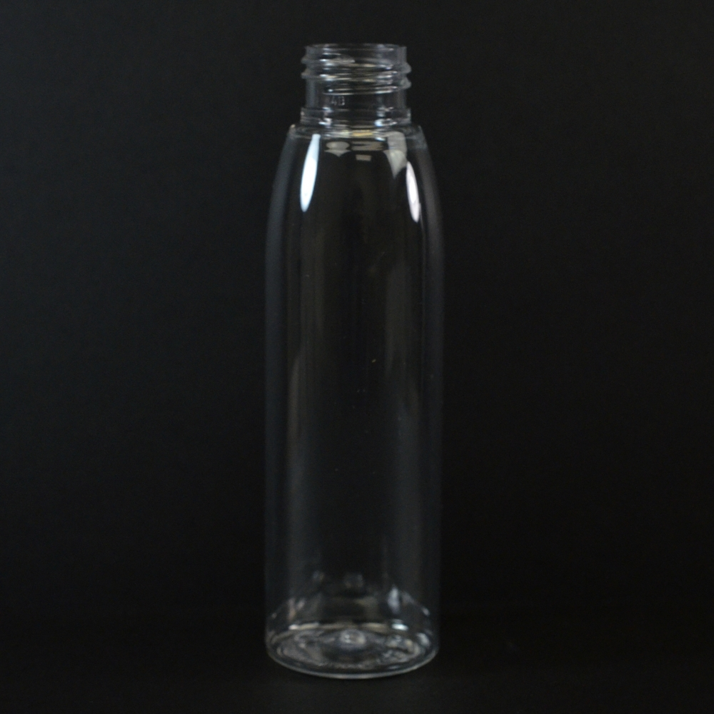 4 oz 20/410 Evolution Round Clear PET Bottle