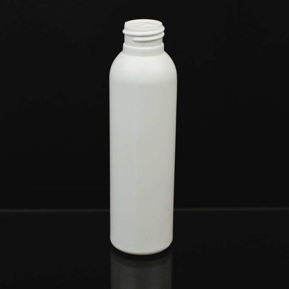 4 oz 24/410 Imperial Round White HDPE Bottle